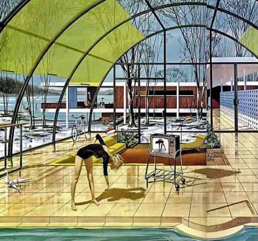 The House of the Future was a series of Motorola advertisements from the early 1960s illustrated by Chicago native Charles Schridde (April 30, 1926 – May 15, 2011)