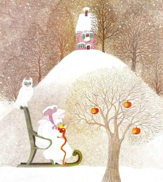 ACHTER DE BERGEN (1979) Lilo Fromm apples
