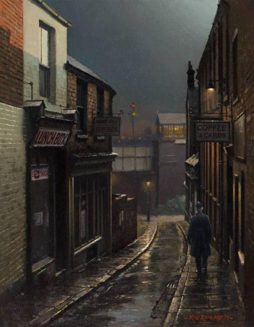 DRURY HILL, NOTTINGHAM, a nostalgic look back to post WWII Britain by Rob Rowland police