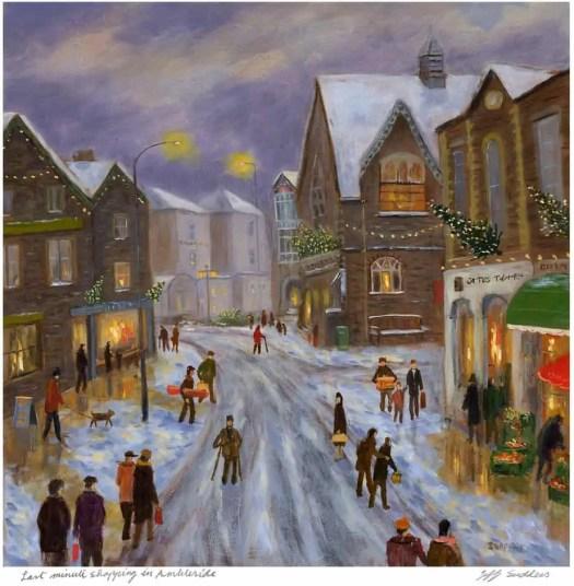 Jeff Sudders. 'Last Minute Shopping in Ambleside