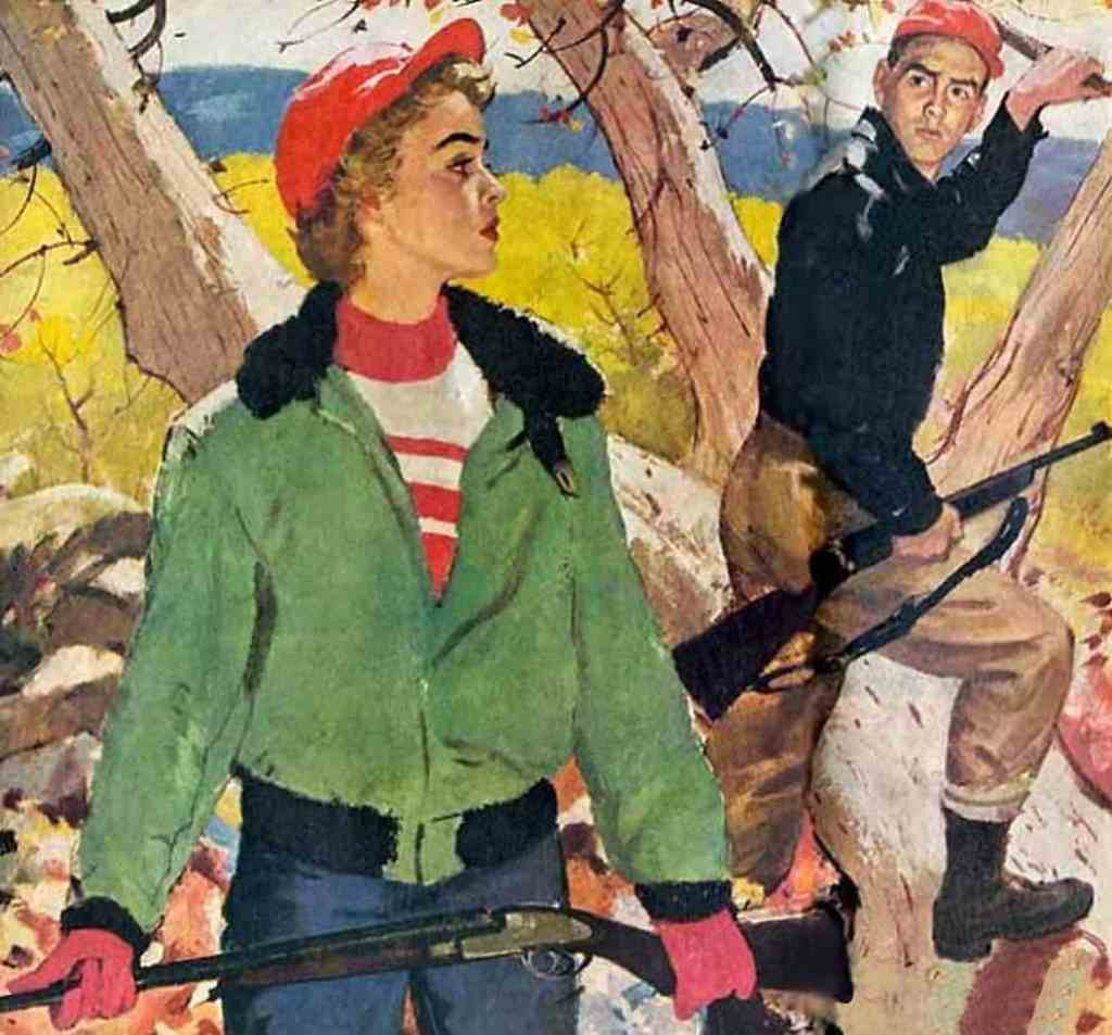 Pruett Carter (1891-1955) tree guns