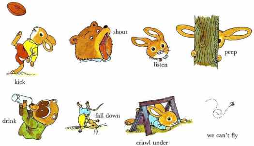 Richard Scarry verbs