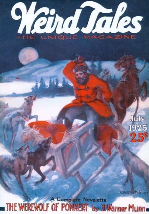 Weird Tales v06 n01 (1925-07) werewolf