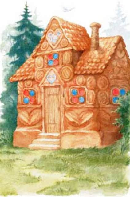 Anastasia Arkhipova - Hansel and Gretel gingerbread house