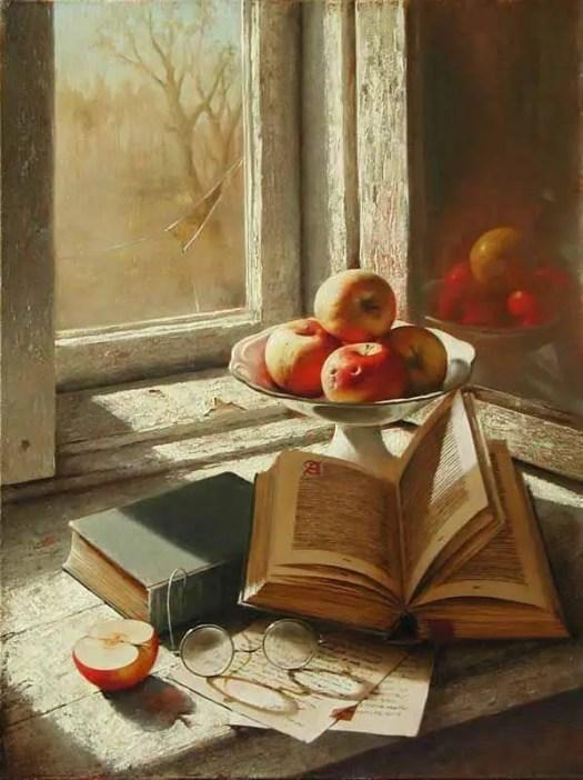 Dmitri Annenkov - Russian  oil on canvas painting