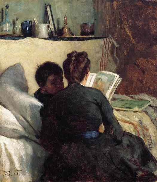 Eastman Johnson - The Little Convalescent