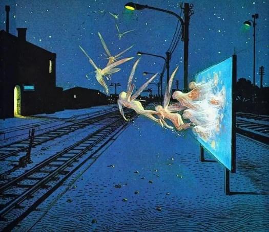 'Fairies' by 'Moebius' Jean Giraud (French Artist,Cartoonist 1938-2012)