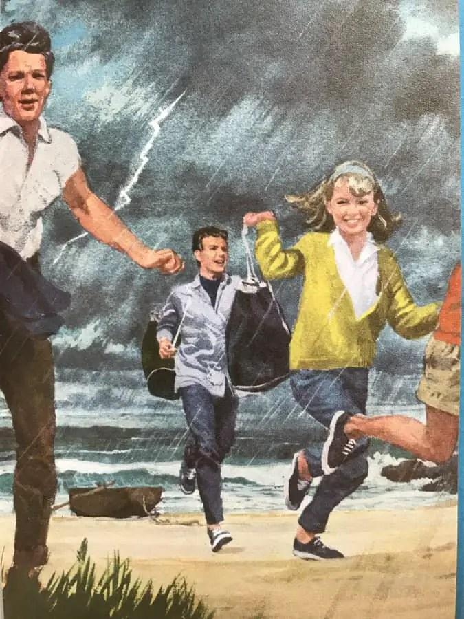 Harry Wingfield Summer rainstorm (1966) for Ladybird