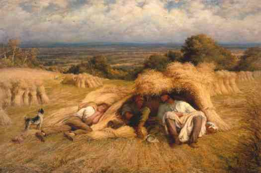 John Linnell - Reapers, Noonday Rest