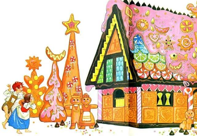Sheilah-Beckett-Hansel-and-Gretel-gingerbread-house