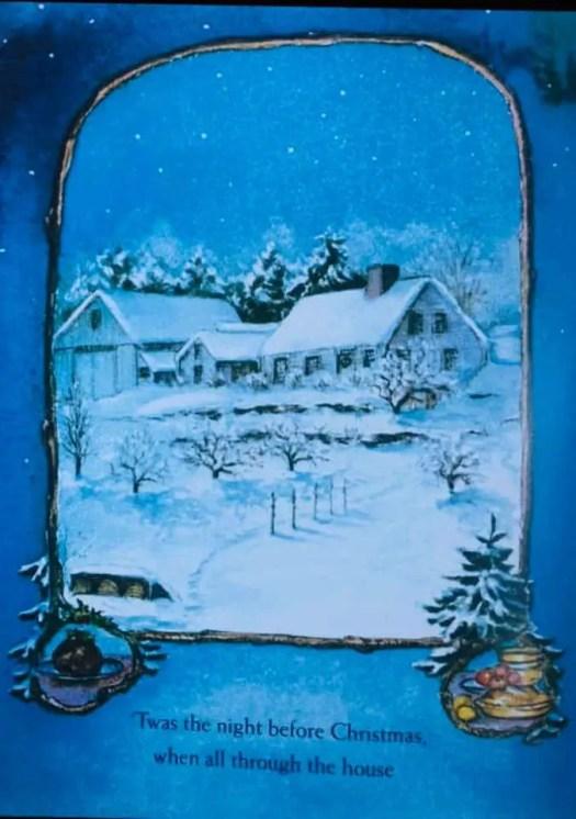 Tasha Tudor Twas the night before Christmas