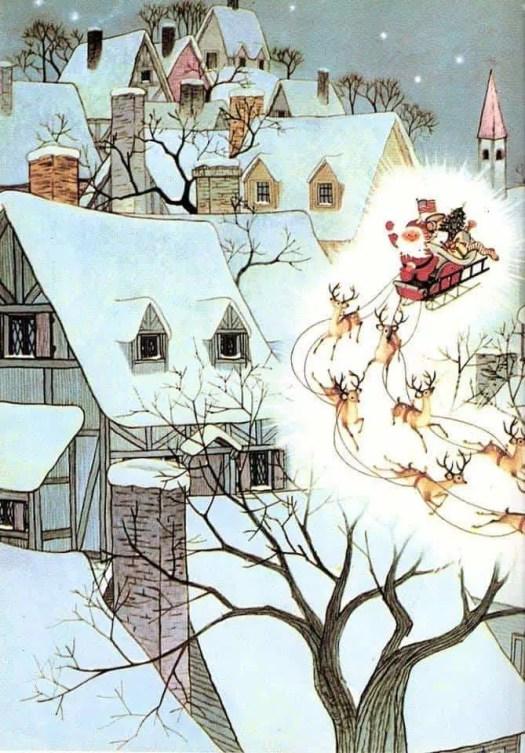 The Night Before Christmas, 1961 Gyo Fujikawa; 1908-1998