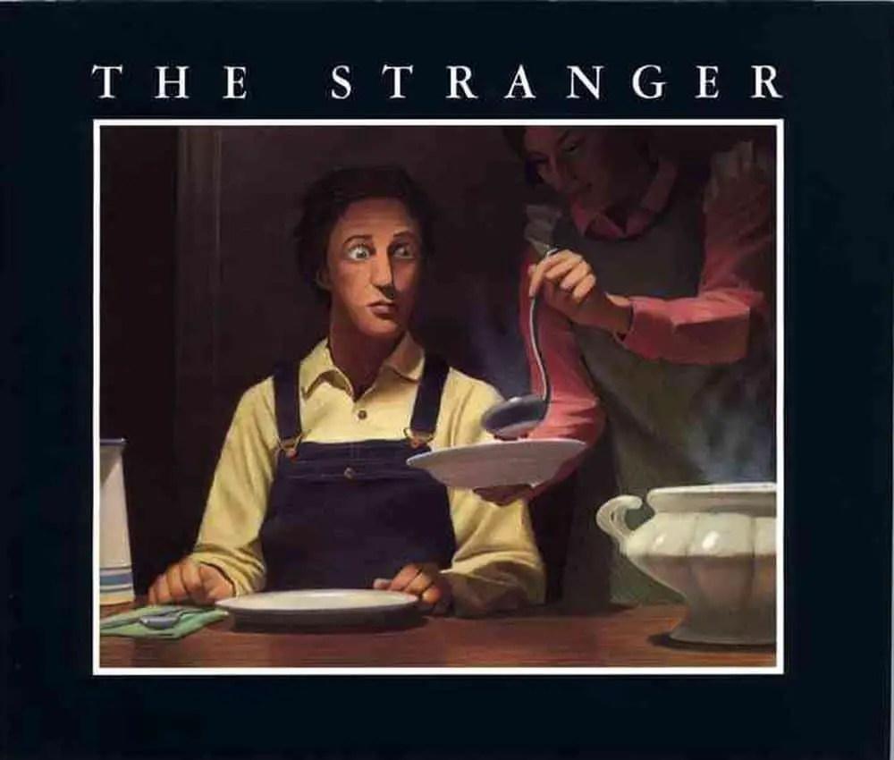 The Stranger by Chris Van Allsburg cover