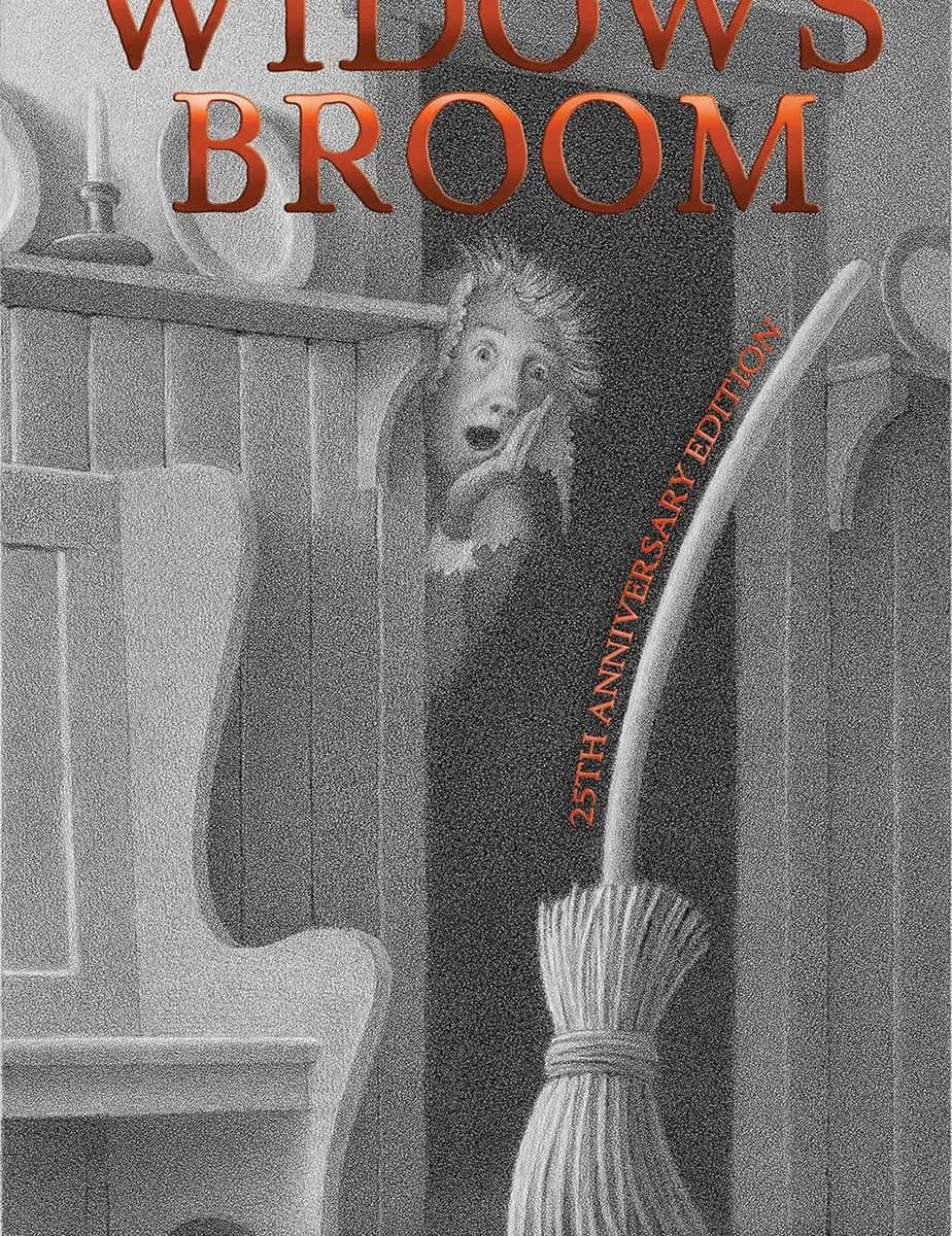 The Widow's Broom Chris Van Allsburg cover