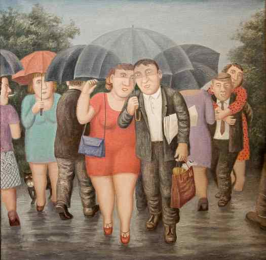 Vladimir Lyubarov umbrellas
