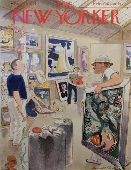 by Garrett Price (1896-1979) art gallery