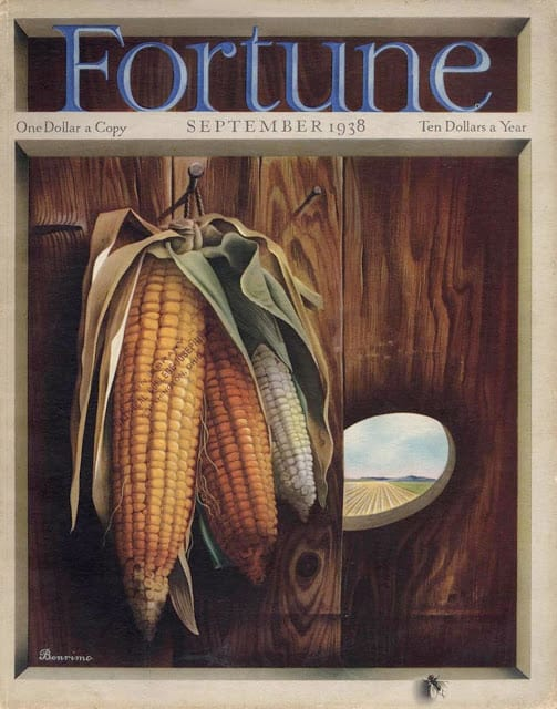 1938 September, cover by Tom Benrimo peephole