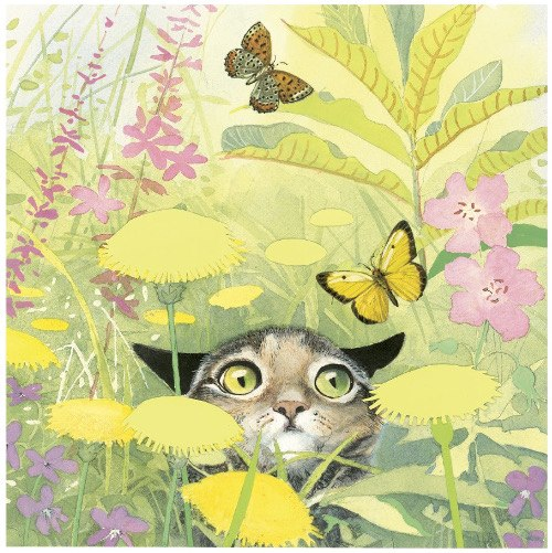 A Cat Named Swan, written and illustrated by Holly Hobbie