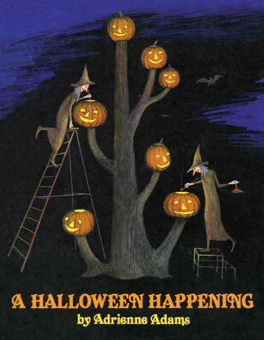 A Halloween Happening by Adrienne Adams cover