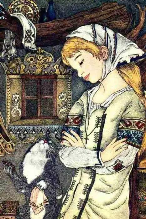 Adrienne Ségur (1901-1981), French children's book illustrator. My Big Book of Cat Stories, 1967