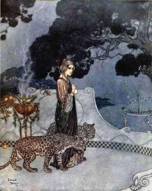 Circe (Enchantress), Edmund Dulac, 1911