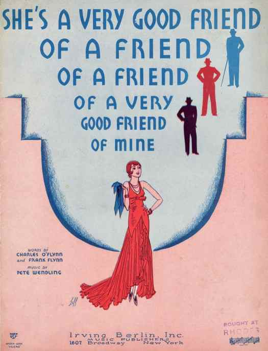 Cover design and illustration by Sydney Leff, 1930