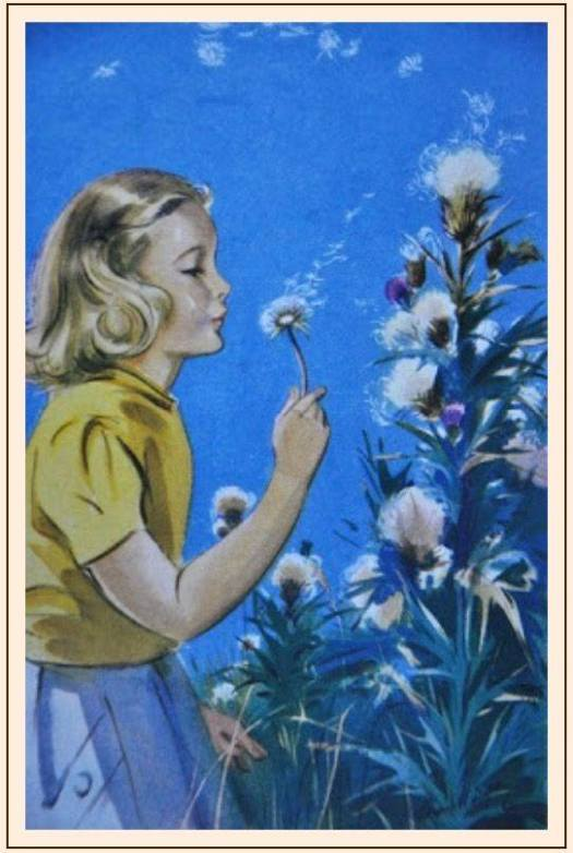Eileen Alice Soper (Enfield, Middlesex, 26 March 1905 - 18 March 1990; England) dandelion clock