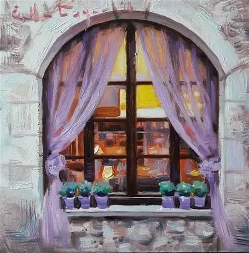 Elena Katsyura. Russian painter pots