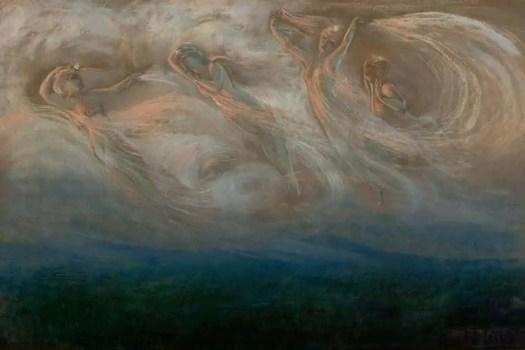 Four Celestial Angels, 1880-95 Frederick Stuart Church; 1842-1924