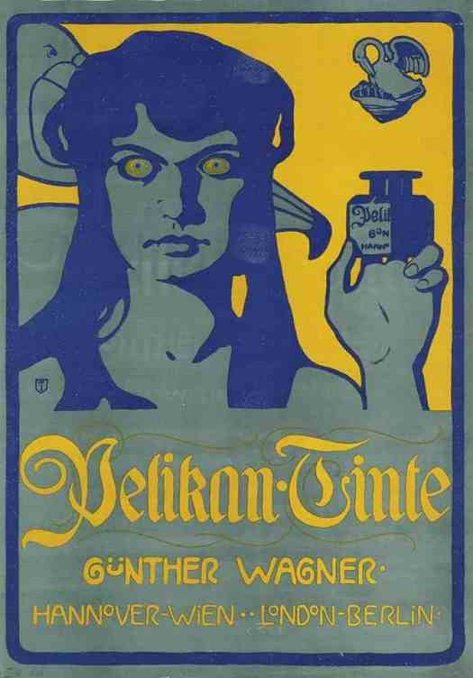 Georg Tronnier, 1902 ink advertisement