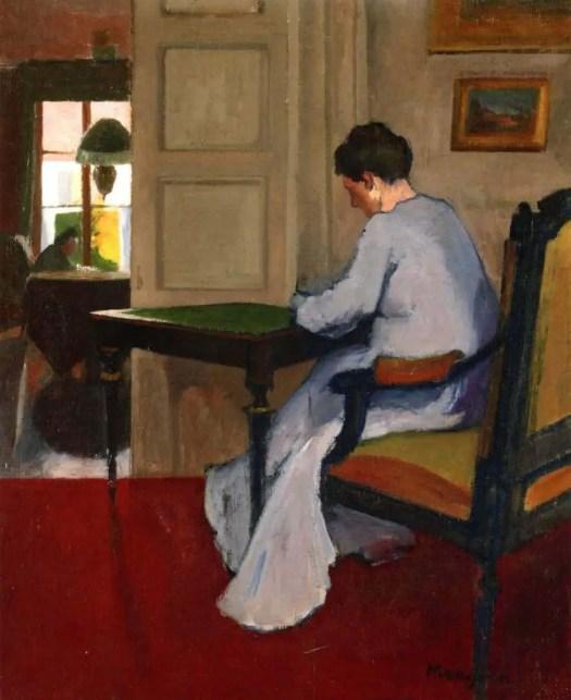 Henri Manguin (1874 - 1949) Interior ,1900
