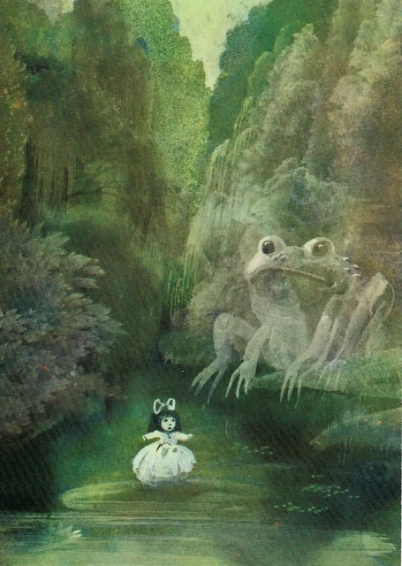 Janusz Stanny - The Tales of Hans Christian Andersen frog