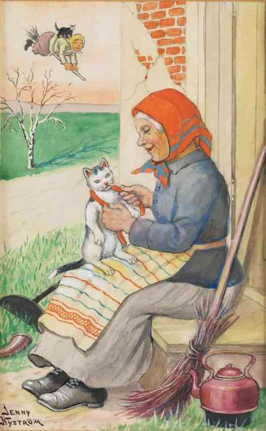 Jenny Nyström Swedish (1854-1946)