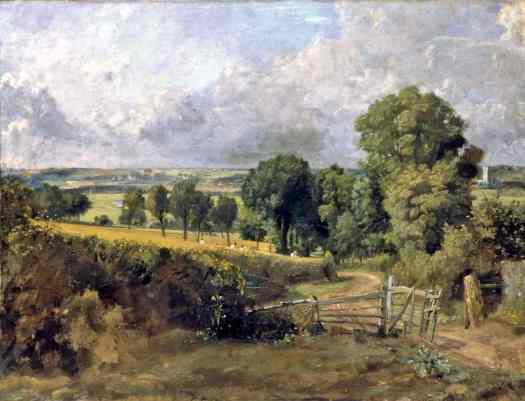 John Constable - Fen Lane, East Bergholt