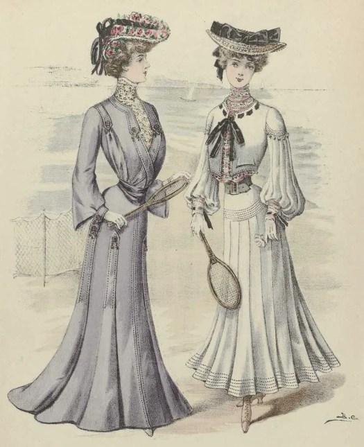 Journal des Demoiselles, 1 juillet 1903, No. 5307 Toilette de Mmes Forcillon Soeurs (...), anonymous, after Monogrammist BC, 1903