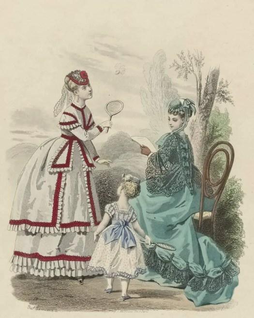 Journal des Demoiselles, septembre 1868, 36e année, No. 9, Paul Lacourière, after Emile Préval, 1868