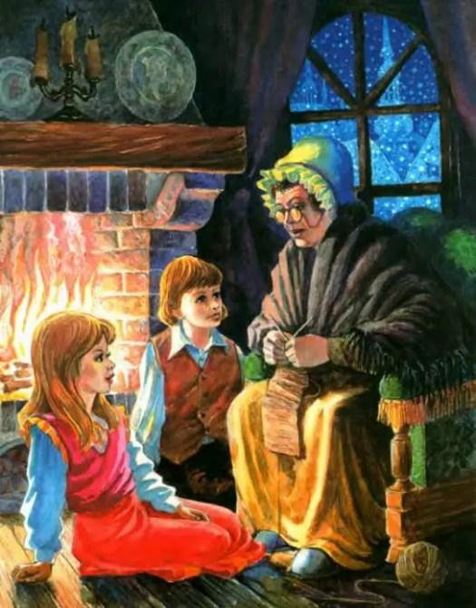 Leonid Zolotarev - The Snow Queen hearth