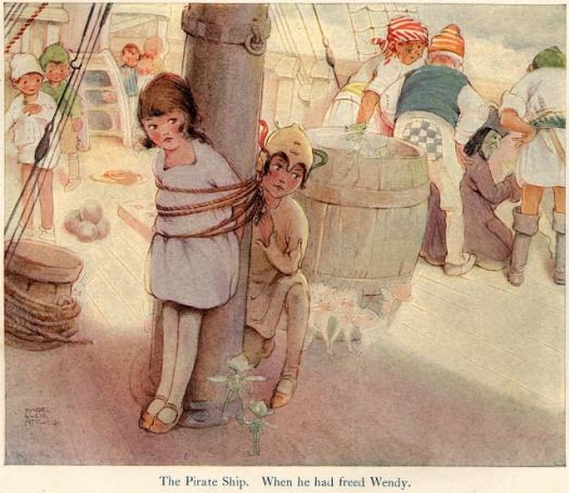Mabel Lucie Attwell - Peter Pan
