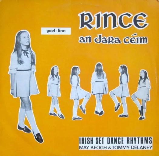 Rince an dara ceim - Irish Dance Rhythms - May Keogh and Tommy Delaney 1968 collage sheet