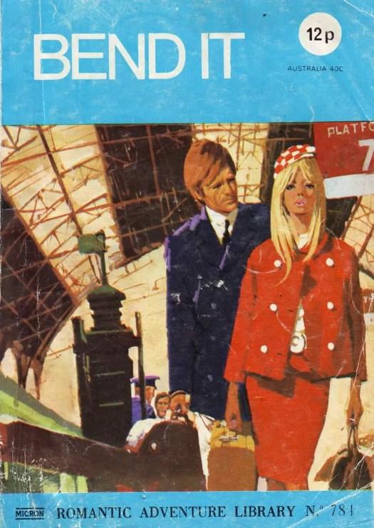 Romantic Adventure Library No. 781 train platform