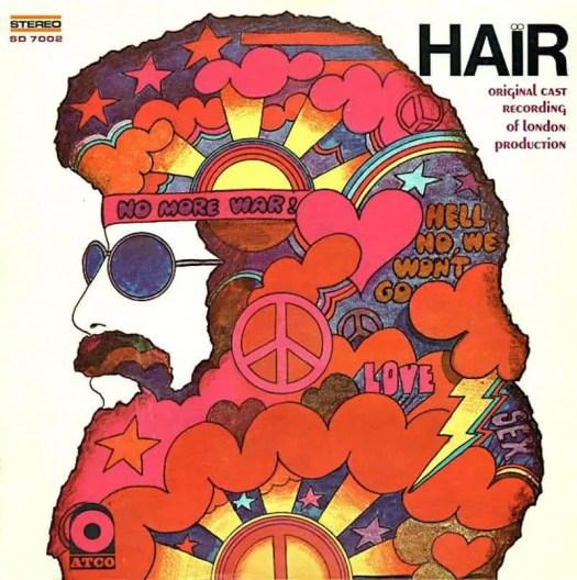 Soundtrack to the musical Hair - cover art- Stanisław Zagórski