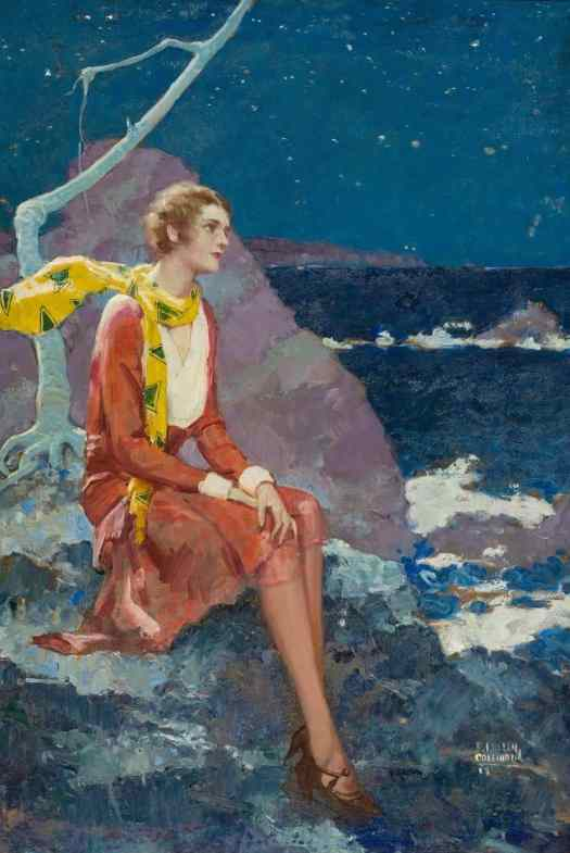 Stars for Sale by Ralph Pallen Coleman (1892-1968) looking out to sea