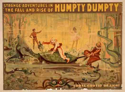 Strange Adventures In The Rise and Fall of Humpty Dumpty