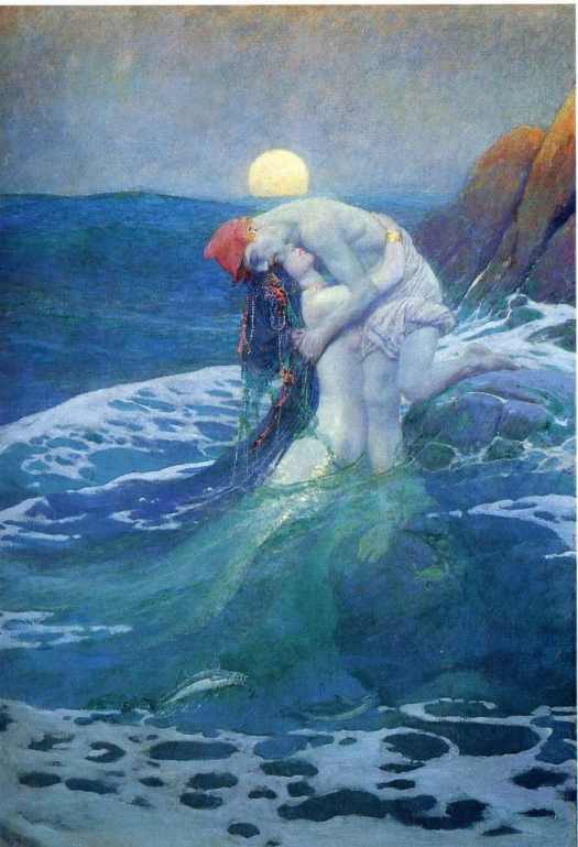 The Mermaid, Howard Pyle, c. 1910