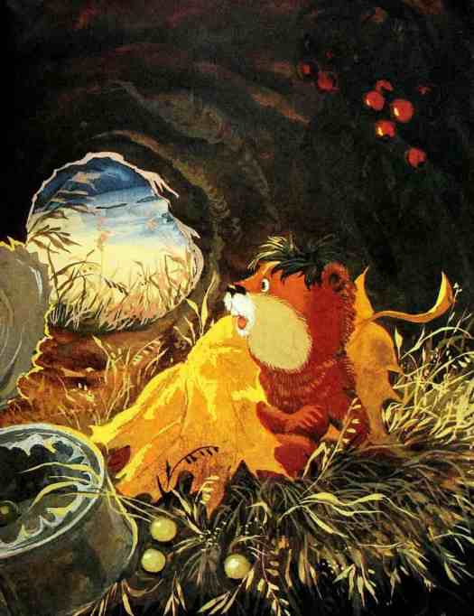 The Whole World is My Burrow by Albert Ivanov illustrated by G. Zolotovskaya