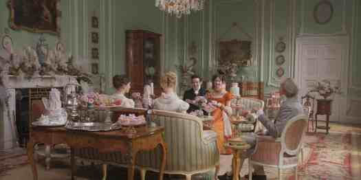 There are many beautiful tea scenes in the latest film adaptation of Jane Austen's 1815 novel Emma (2020)
