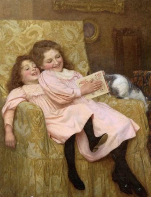 William Henry Gore - Teasing the Cat