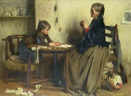 Arthur Hacker - A Difficulty 1888