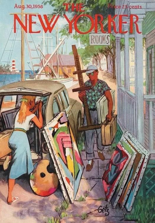 by Arthur Getz (1913-1996) 1958