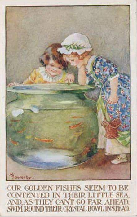 Amy Millicent Sowerby (1878-1967) fish bowl